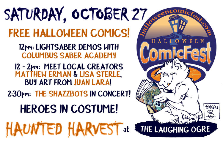halloween comicfest is the second largest comic celebration of the year with the little