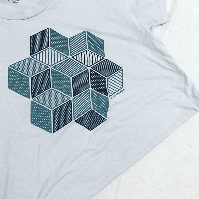 Throwback to some tees we printed for Heath Ceramics.