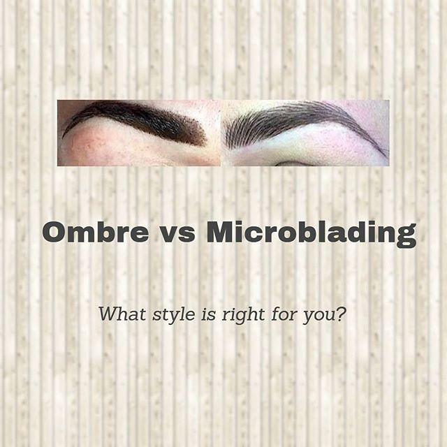 Ombre (Powder Brow) vs Microblading - what style is best for you?⠀ ⠀ https://buff.ly/2Axum7n⠀ .⠀ .⠀ .⠀ .⠀ #perfect_pigment #ombre #microbladingbayarea #liner #eye #permanentmakeup #microblading #microstroking #micropigmentation #3deyebrows #eyebrowtattoo #sanfrancisco #happyclient #eyebrowsonpoint #curious #trynewthings #beautysecrets #beautyguru #beauty #eyebrows #brows