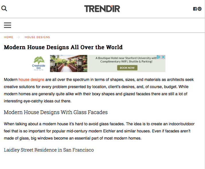 """Modern House Designs All Over the World"""