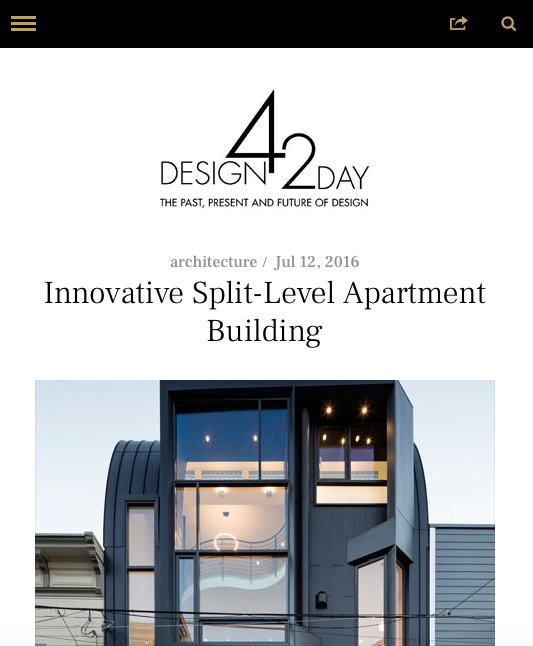 Design 42 Day features Linden St. Apartments