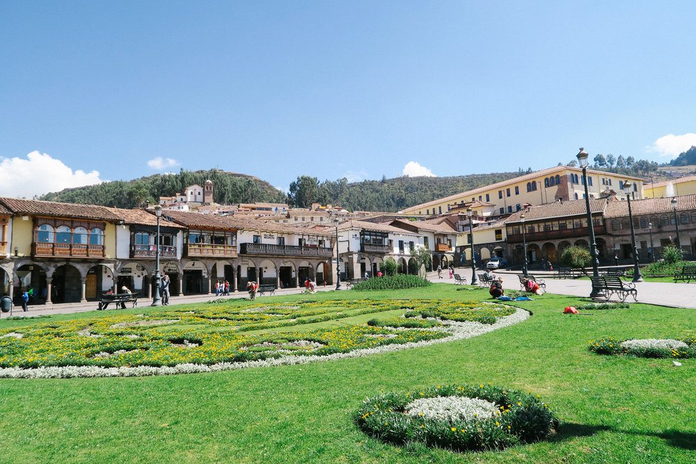 Main Plaza in Cusco