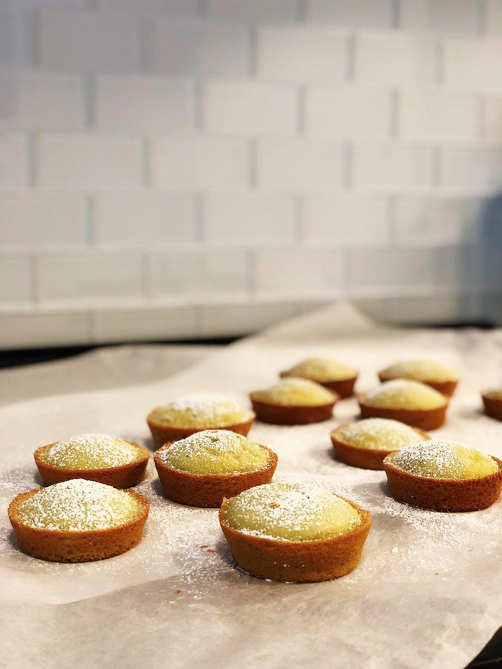 Mochi Cupcakes - Matcha