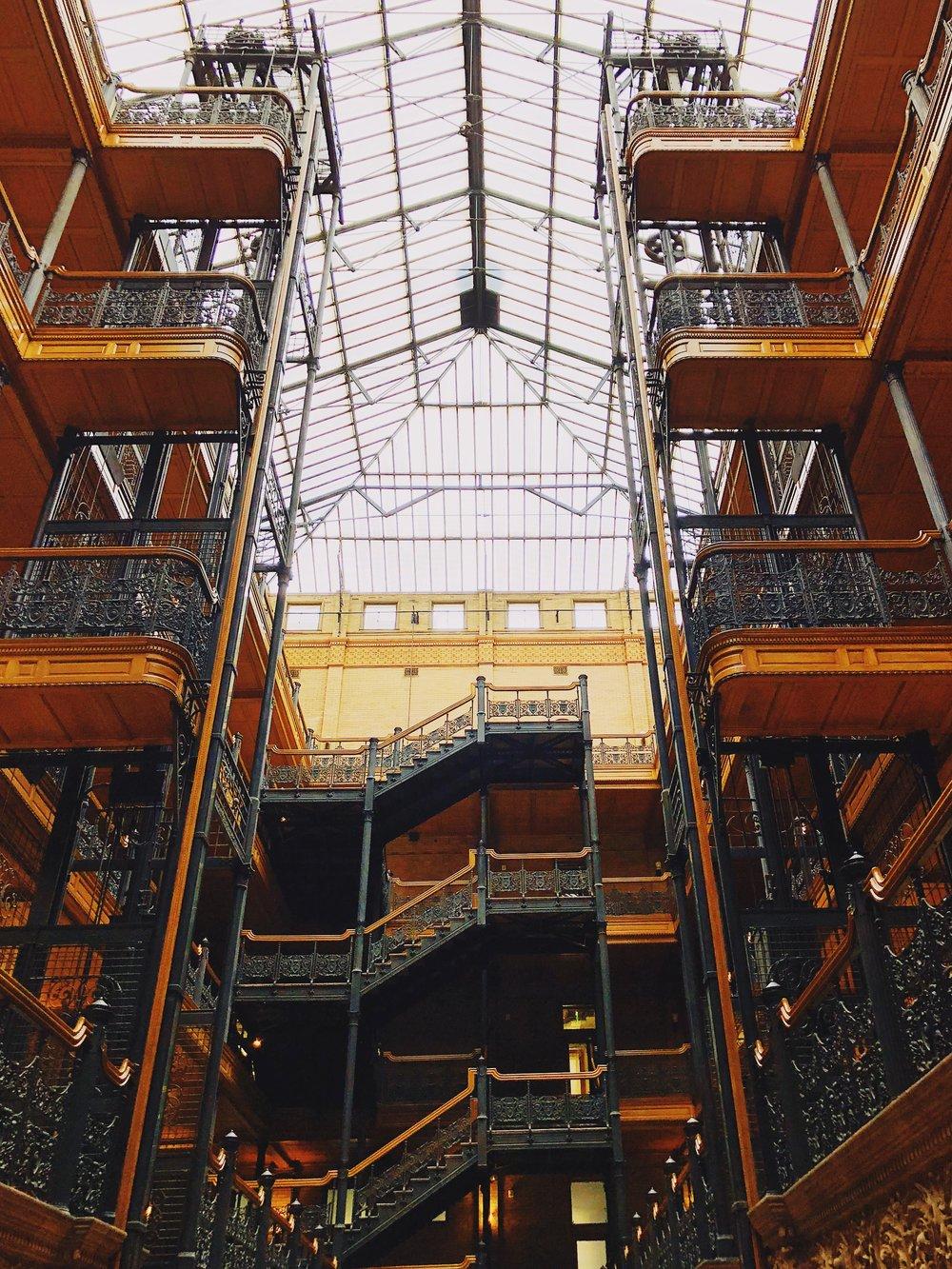 The L.A. Weekend Bucket List: Explore the Bradbury Building