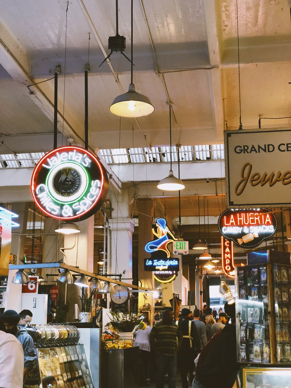 The L.A. Weekend Bucket List: Get a quick bite at Grand Central Market