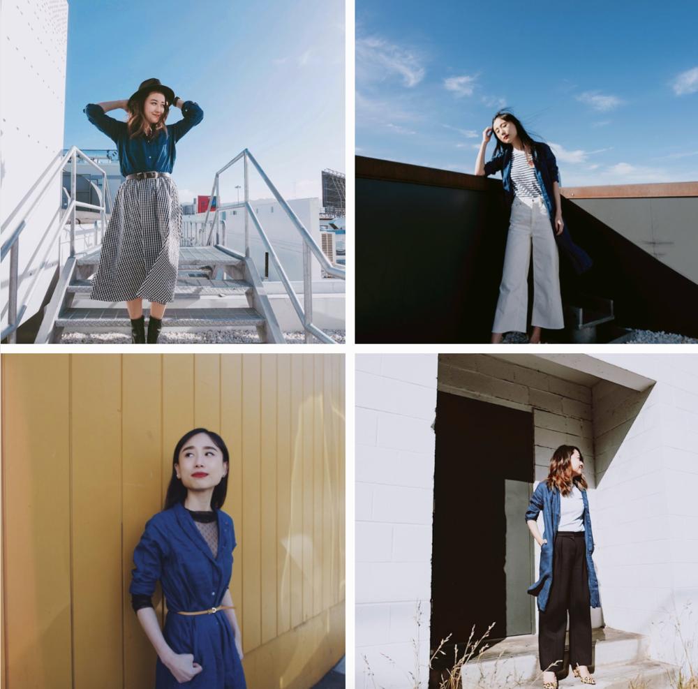 4 ways to wearthe everlaneshirt dress - Style collab with Yuka Ohishi