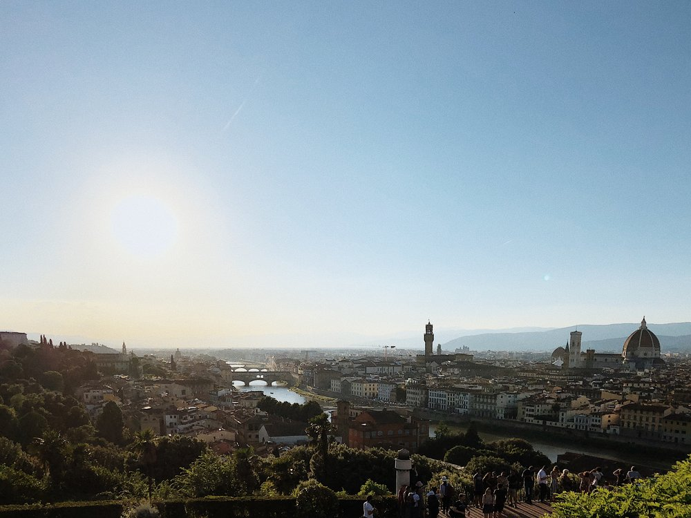 Piazzale Michelangelo - Florence   Italy Travel Diary + Vlog Part 3