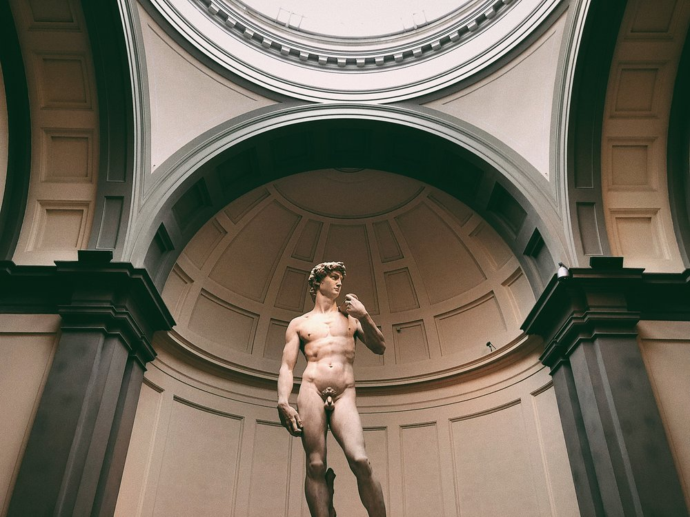 Michelangelo's David in Florence | Italy Travel Diary + Vlog Part 3