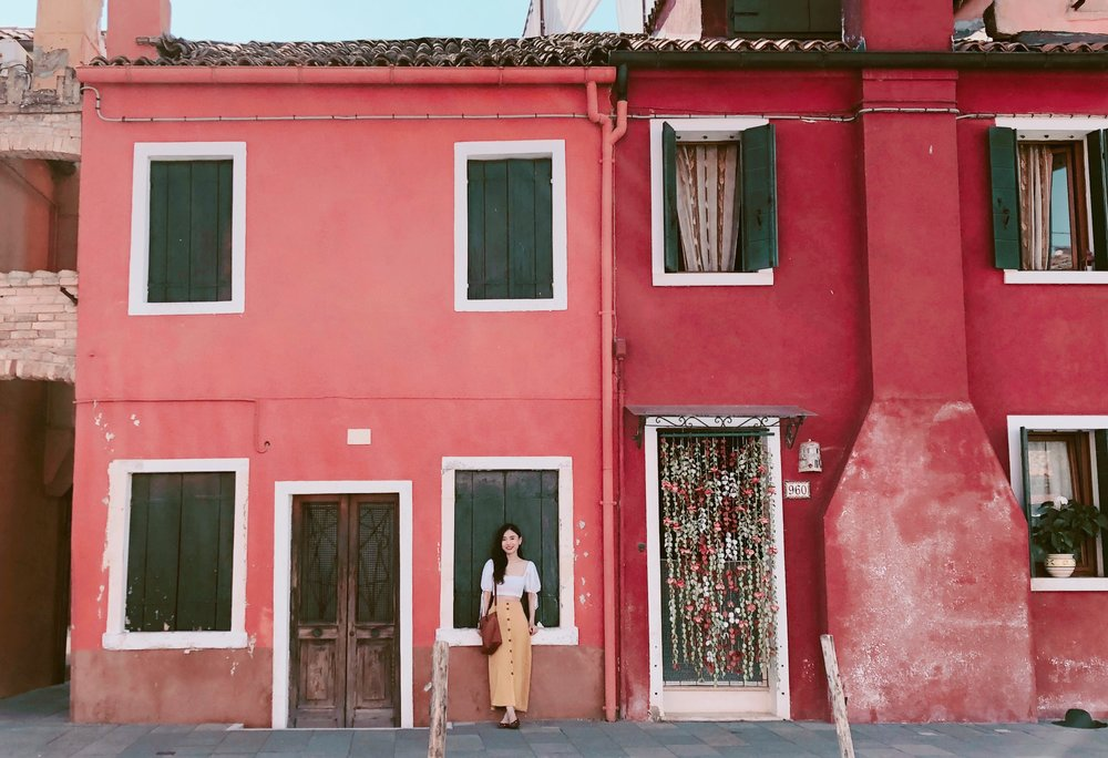 Eggieshop in Burano, Italy