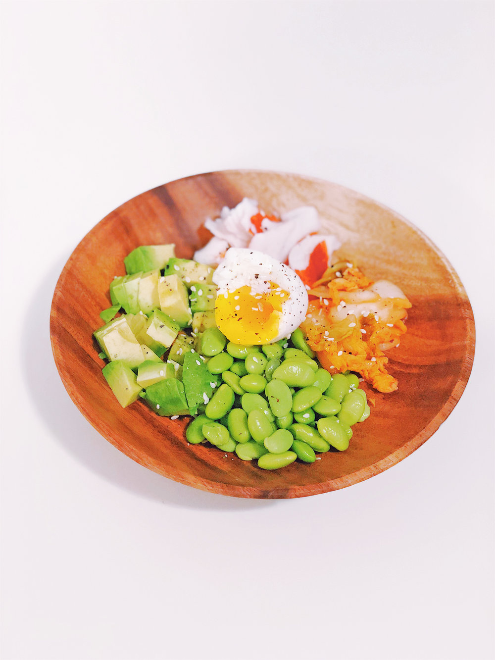 "Healthy ""Bibimbap"" under 200 calories"