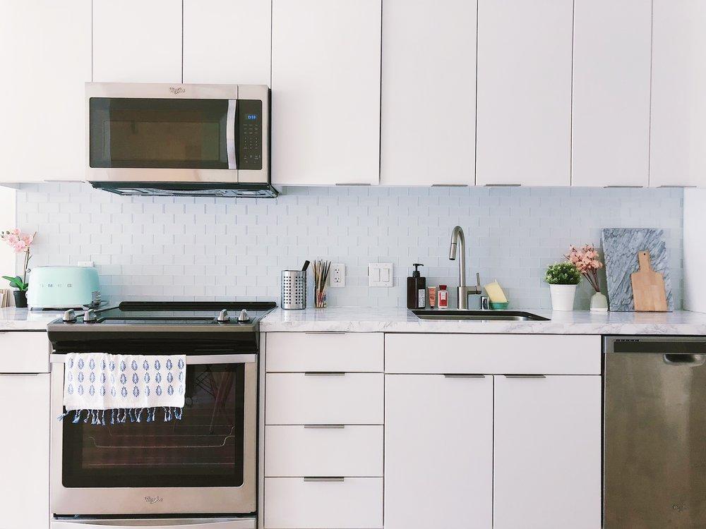 San Francisco Apartment Tour - Kitchen