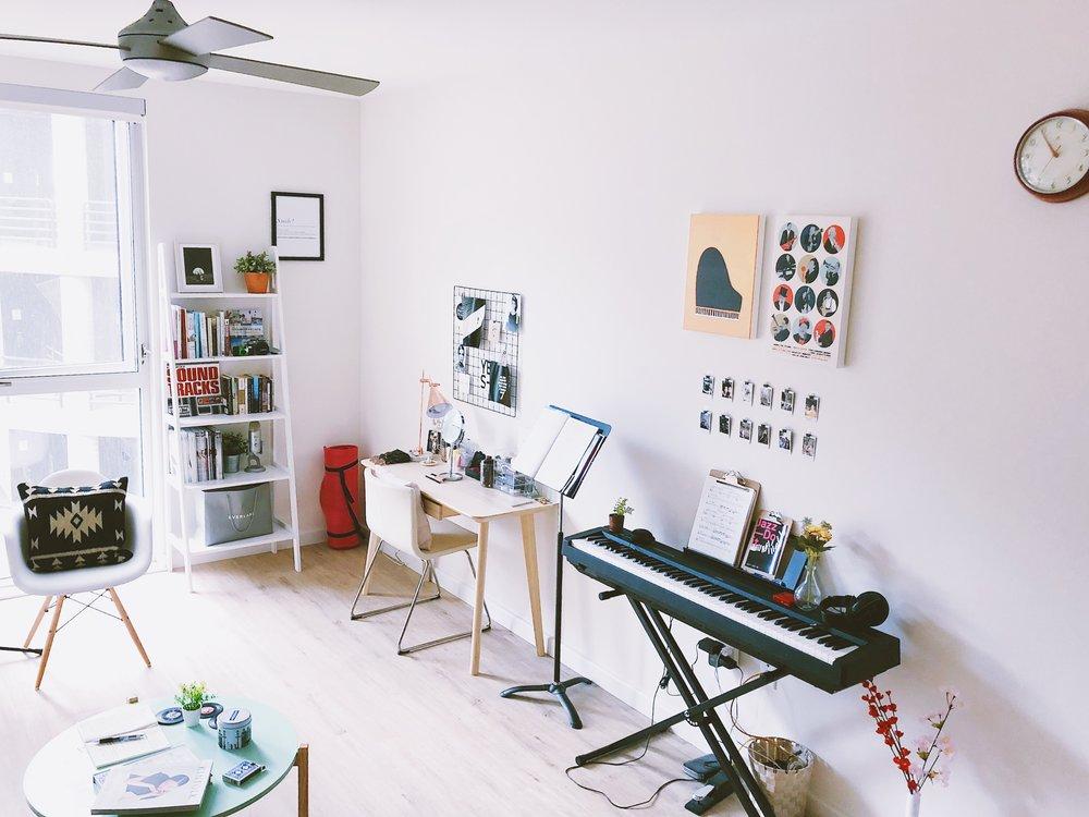 San Francisco Apartment Tour - Living Room
