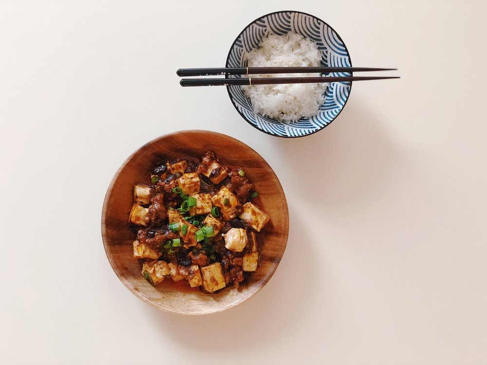 Mapo Tofu - Mom's Recipe