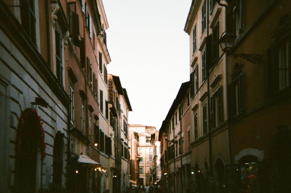Italy on film - Rome