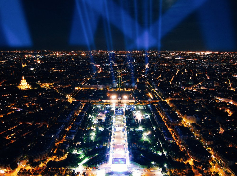The Paris Bucket List - top of the Eiffel Tower