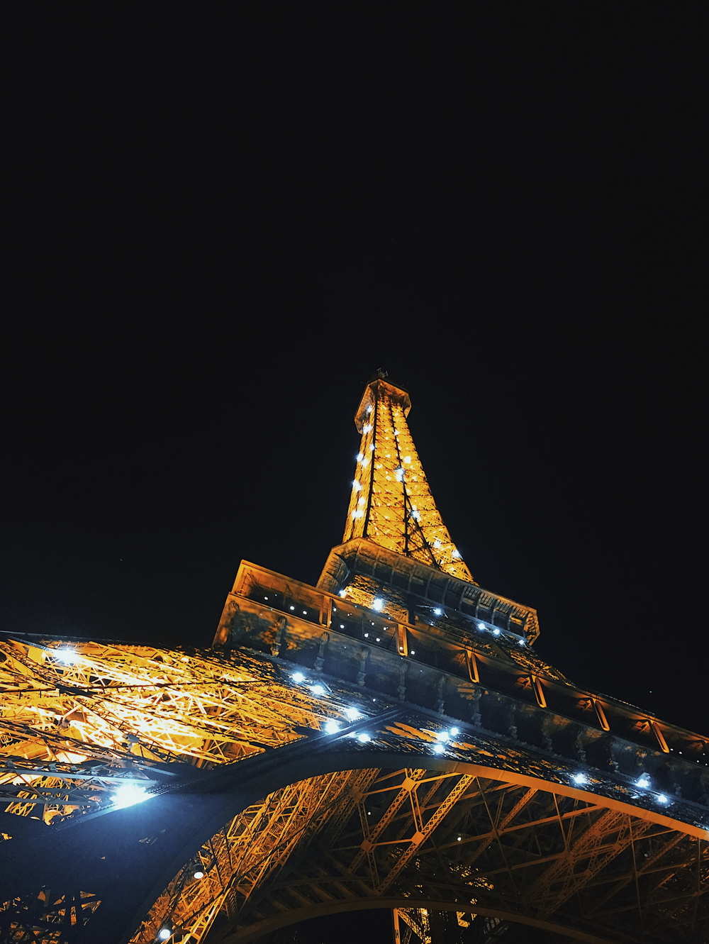 The Paris Bucket List - Eiffel Tower light show