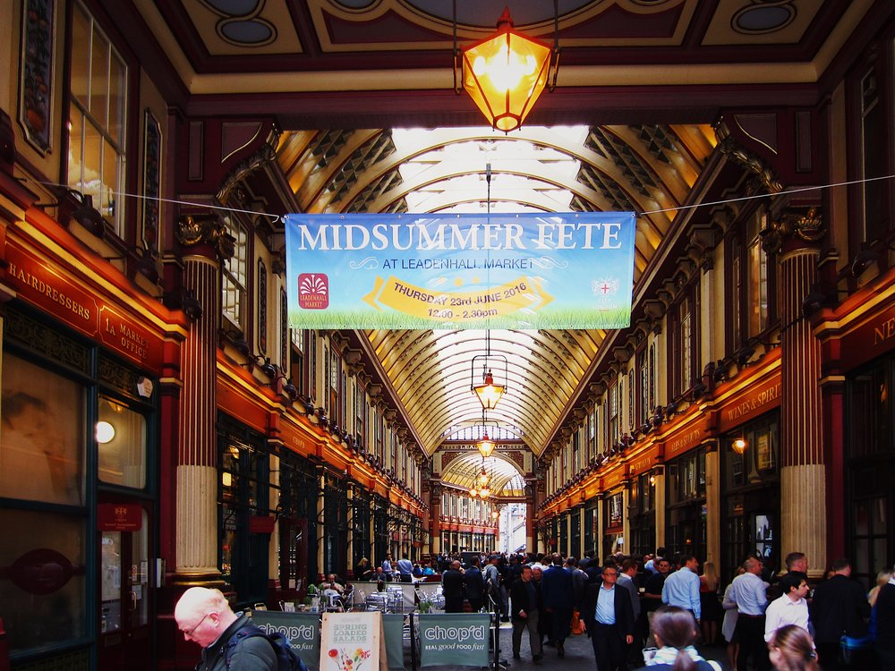 London in 24 Hours - Leadenhall Market