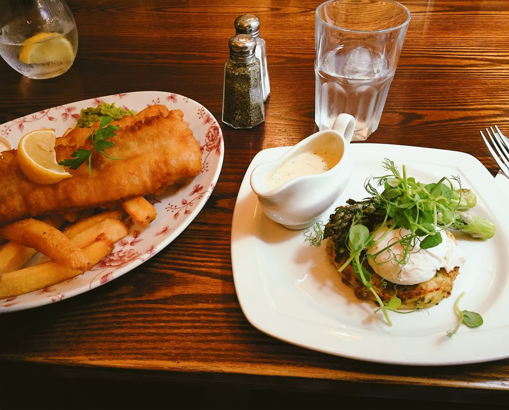 London in 24 Hours - Fish & Chips, Bubble & Squeak