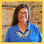 Gilda Yazzie, newly elected Vice President