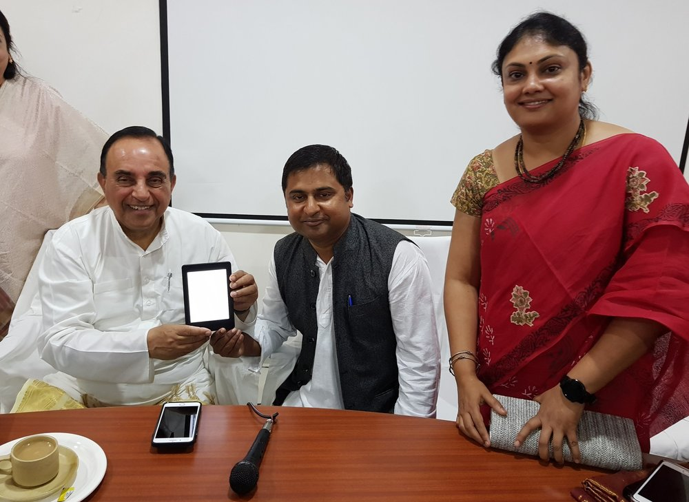 The Autograph Seeker on Kindle. Cover release by Economist, Mathematician and Member of parliament in Rajya Sabha- Dr.Subramanian Swamy 'Peppered with autographs and amusing anecdotes, The Autograph Seeker chronicles the India of the 80s and 90s through a school boy's hilarious narrative.'