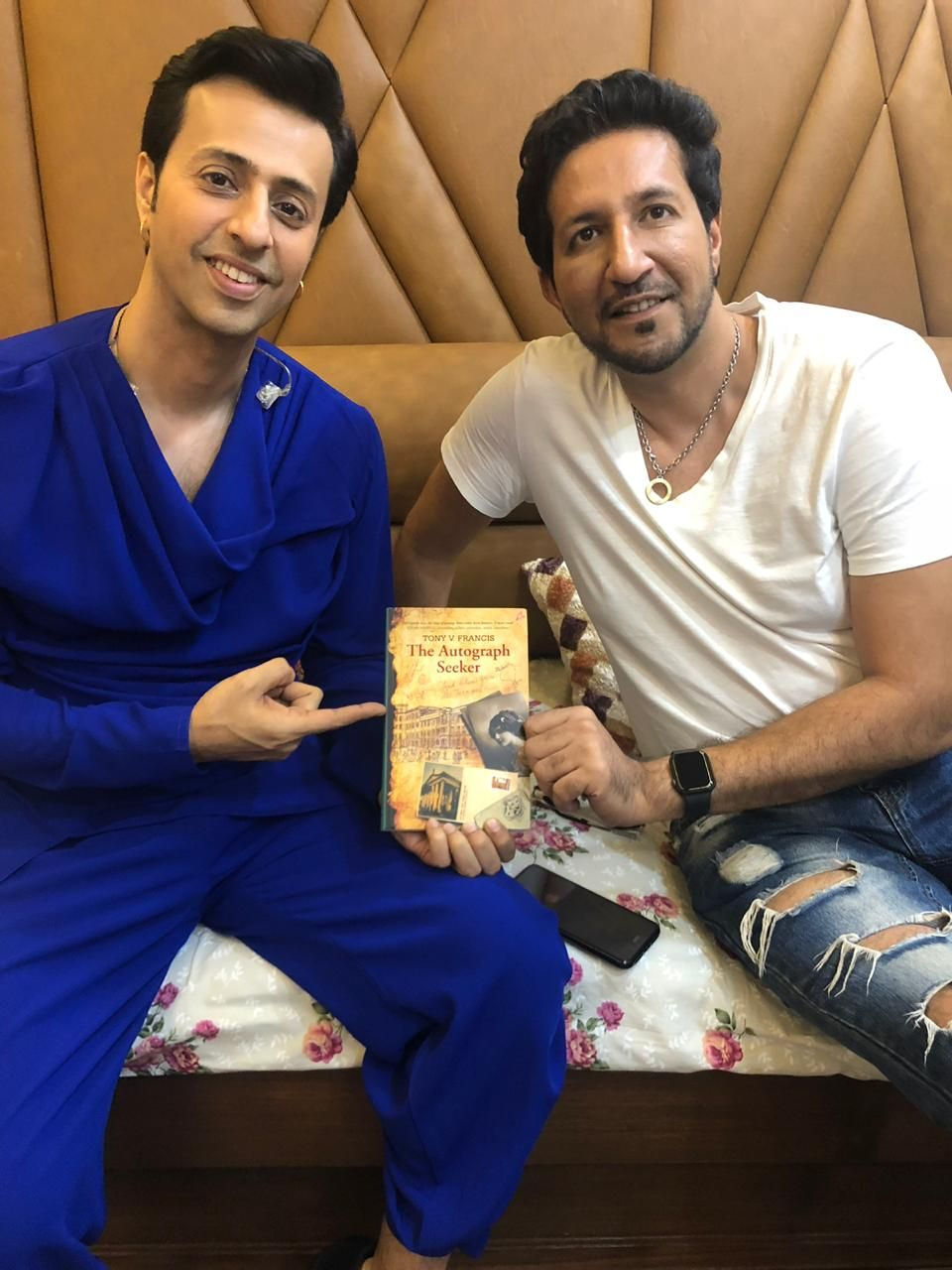 Salim-Sulaiman music duo from the Indian Film Industry