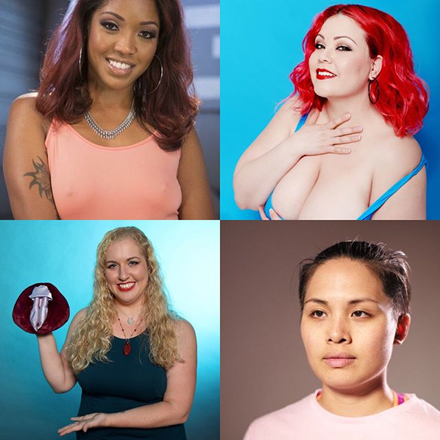 "This Sunday 11/12 at 3pm - Come out and join this sexy group for our panel ""Buds in the Bedroom"" at @hightimesmagazine's Cannabis Cup! Milcah Halili @slutsmartsoul, Lotus Lain @itslotuslain, Ashley Manta @cannasexual, and April Flores @theaprilflores! hope you'll be a part of this sexy and fun discussion. 💋💨"