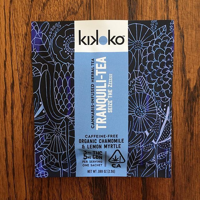 I can't relax, so I'm gonna have a cup of @kikoko_hq's Tranquili-tea. CBN is my favorite cannabinoid for calming tf down. —Milcah, @slutsmartsoul #NoFilter