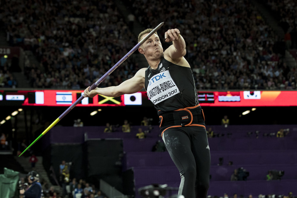 Day 7: Ben Langton Burnell in the Javelin Qualifier.