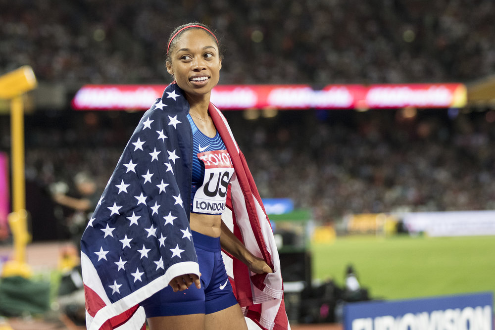 Day 10: USA Destroy the field in the 4x400m and Allyson Felix gets her 16th World Championship medal and another title to add to her resume.