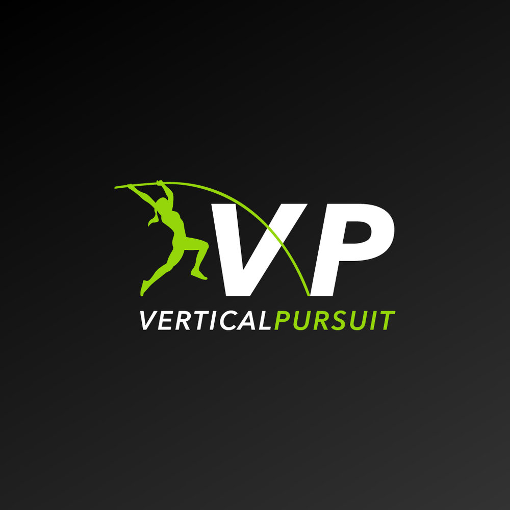 Vertical Pursuit - Logo design, Marketing and Promo Material, Event Design and Photo Manipulation for an exciting new International Exhibition Pole Vault Competition