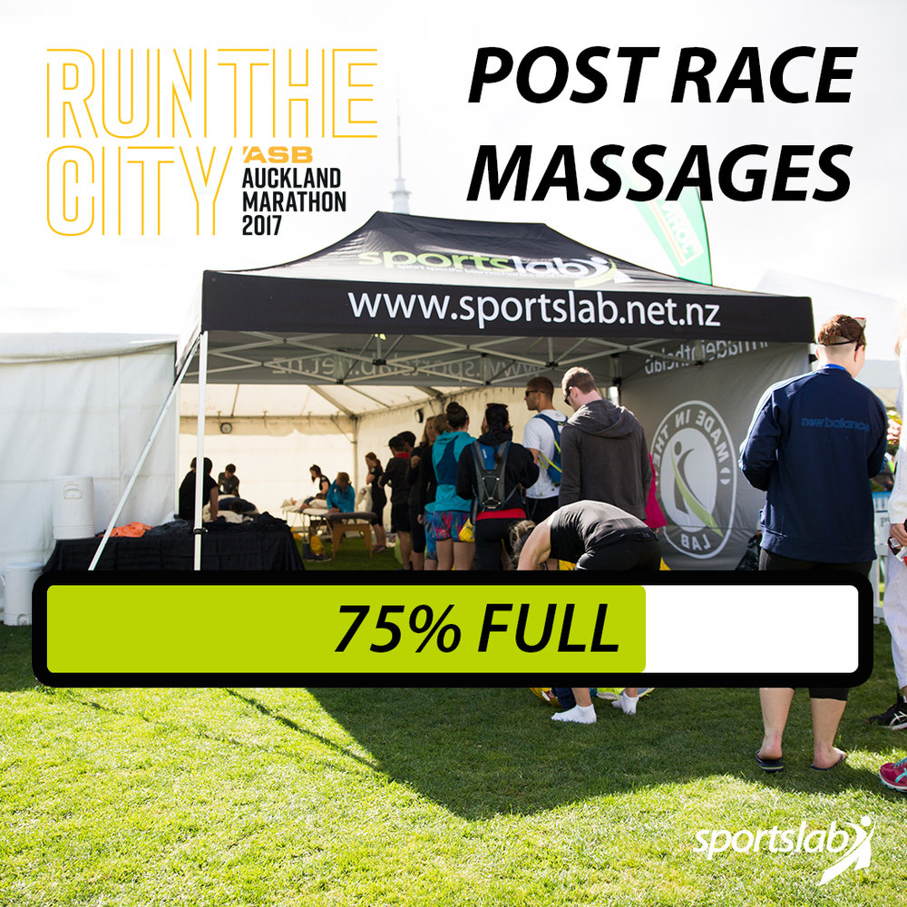 Social Media Content: Auckland Marathon Massages