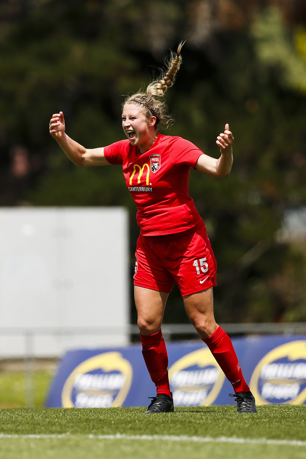 Monique Barker of Canterbury scores the winning goal against Northern at the National Women's League Final. 16 December 2018. Trusts Arena, Auckland, New Zealand. Copyright photo: Alisha Lovrich / www.photosport.nz
