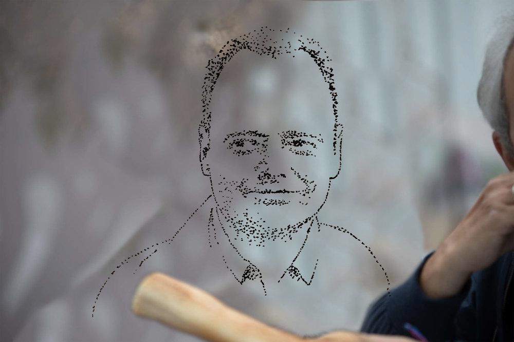 Jens Tenhaeff - Geboren 1966 (Kiel). Verbringt seine Kindheit zunächst am Strand (Sylt) später vorm Fernseher (Berlin). In den 80ern Abitur. Danach legt er zunächst Musik auf (DJ), verkauft dann Musik (Plattenladen) und studiert schließlich Musik (FU Berlin). In den 90ern langsamer Einstieg bei pen'guin grafik (später Pacifico Grafik, jetzt BAR PACIFICO/) als Special Project Advisory Counselor (Aushilfe). Seit 2002 kleines eigenes Büro für Projekte abseits von PACIFICO. Verheiratet, zwei Katzen.