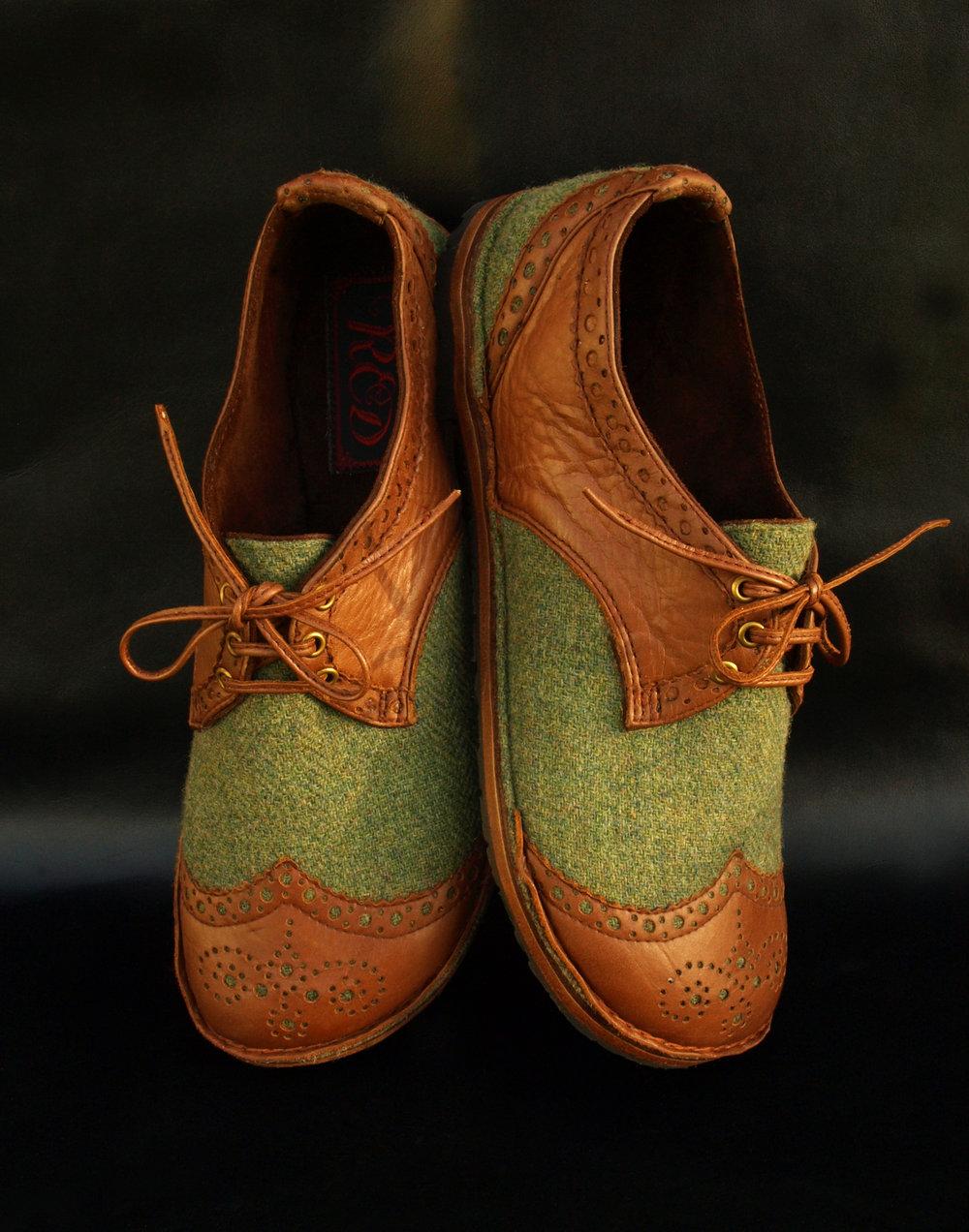 Harris Tweed shoes with tan brogue details (1).jpg