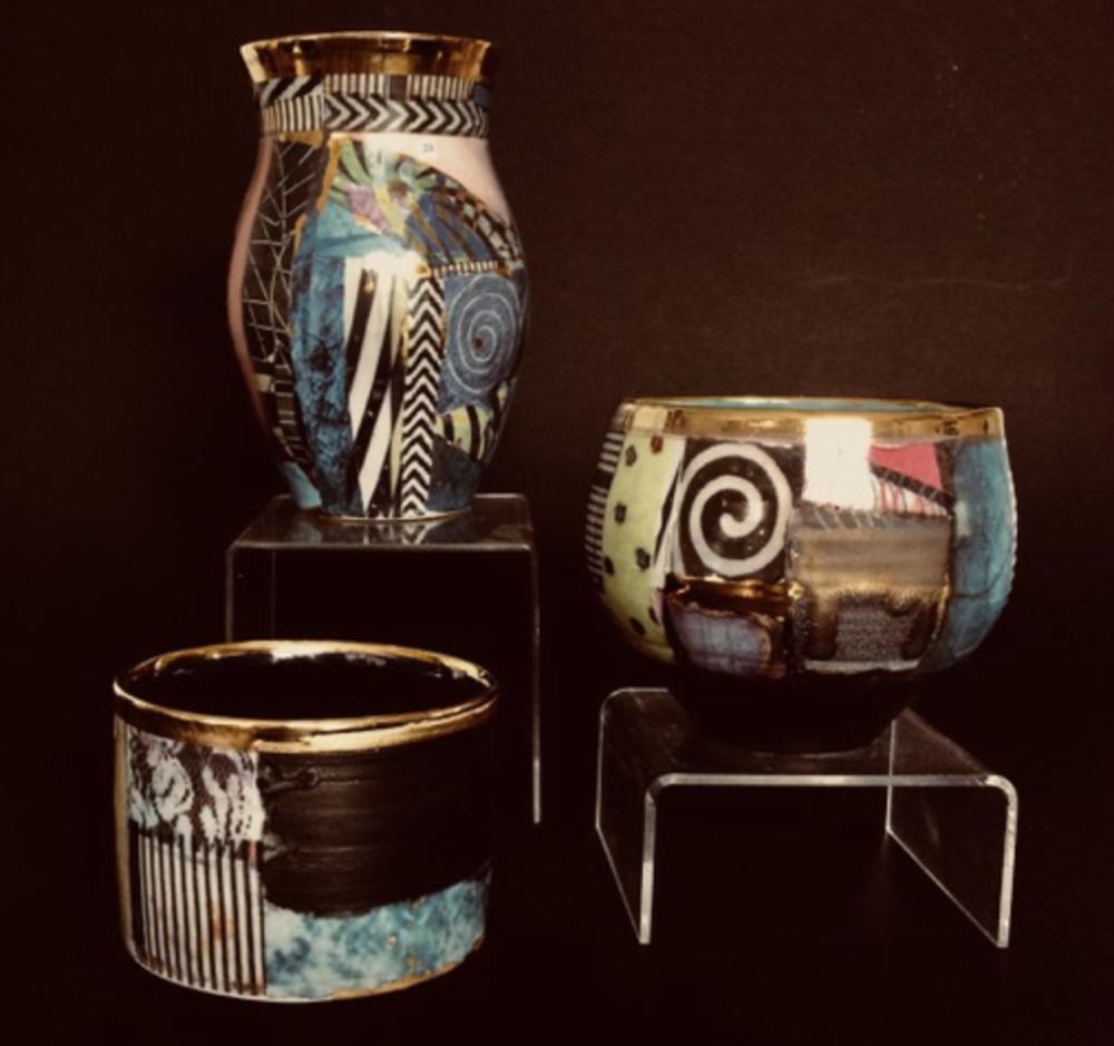Elaine Coles Botswana inspired pieces