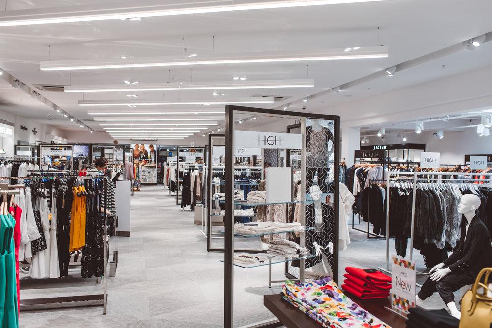 Womenswear Retail Interior design