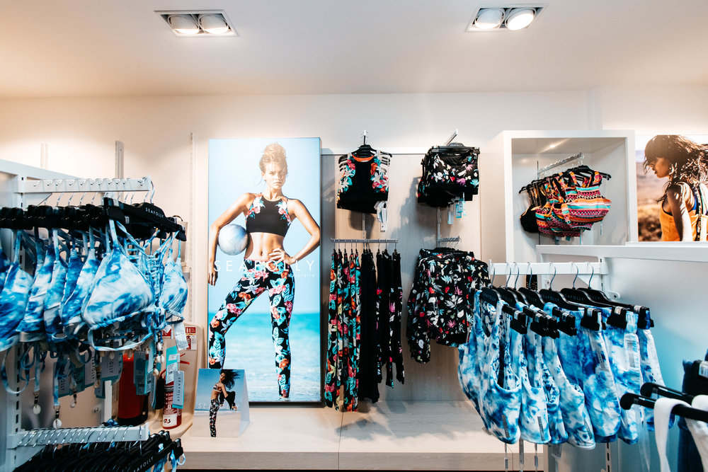 Retail Interior Design Sportswear