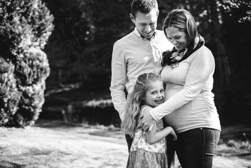 Beautiful family outdoor photoshoot Cheltenham