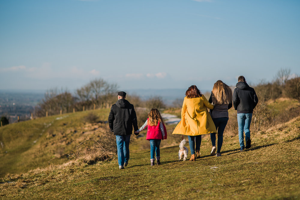 Family photoshoot walking dog gloucestershire.jpg