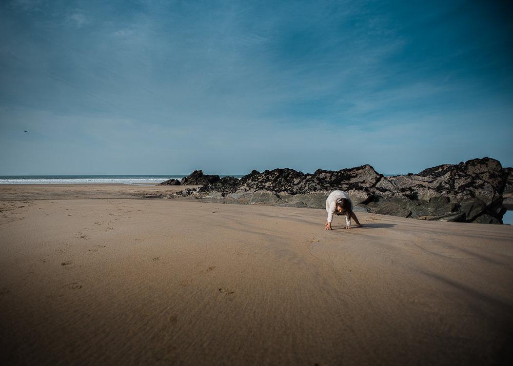 Being a crab at Newquay beach Chui King Li Photography-7658.jpg