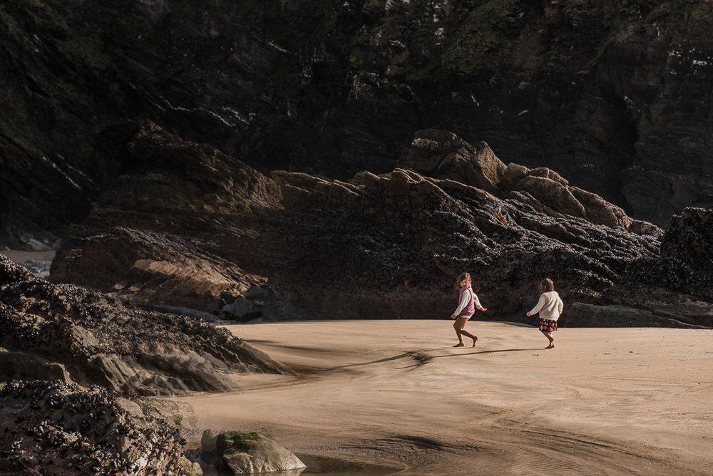 Rock cliffs at Newquay beach Chui King Li Photography.jpg