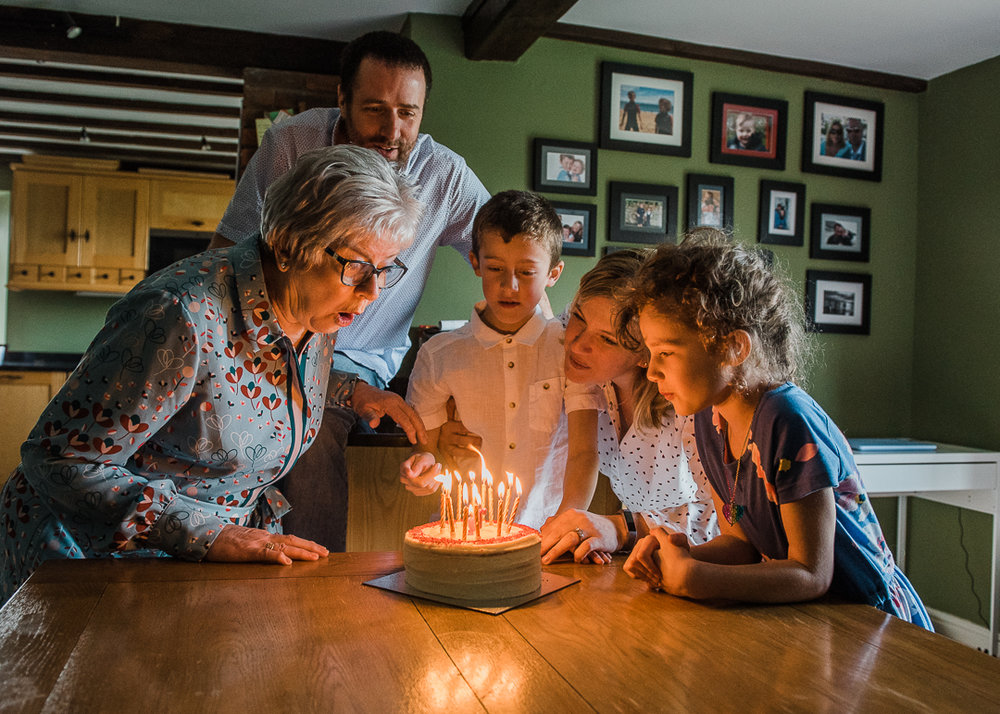 70th Birthday Grandma