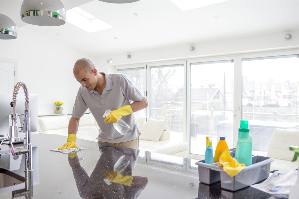 Home Cleaning - Our partners offer cleaning services to help you stay organized while you focus on the things that matter most.