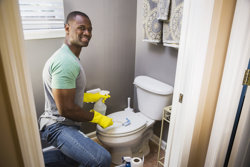 Bathroom Cleaning - Does your restroom need a rest? Air-Rands is here to bring it to life!