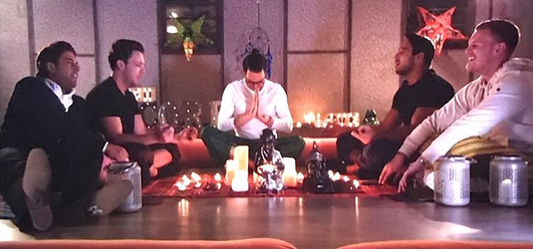 RokCore Featured on ITVBE's The Only Way Is Essex, seeing the boys take timeout for some Zen time.