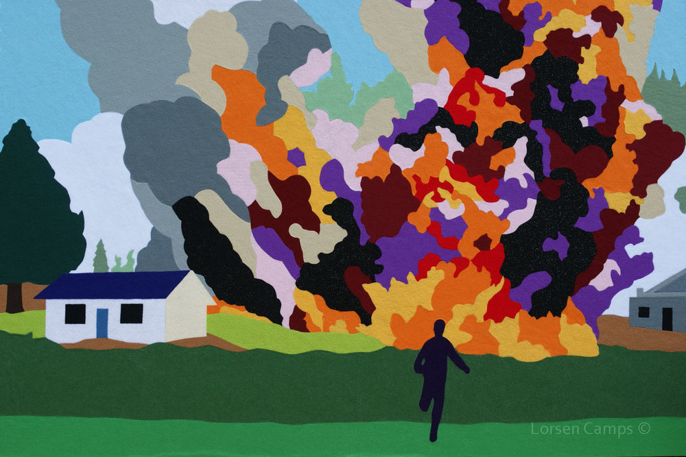Felt Explosion #8 (2011)