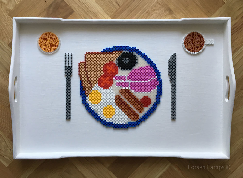 Full Hama Bead Breakfast (2017)