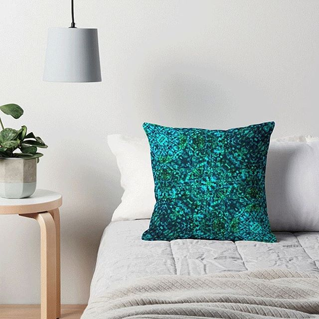 Funk up your new year home decor with cushions that you can't buy anywhere else. Shop them through the link in the bio!  #homedecor #interiordesign #softfurnishings #indoor #design #tranquil #peaceful #whiteinterior #ambience #pillow #coolcushion #beunique #jewel #azure #aqua #turquoise #blueygreen #bedtime