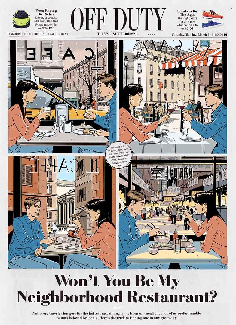 'Won't You Be My Neighborhood Restaurant?'