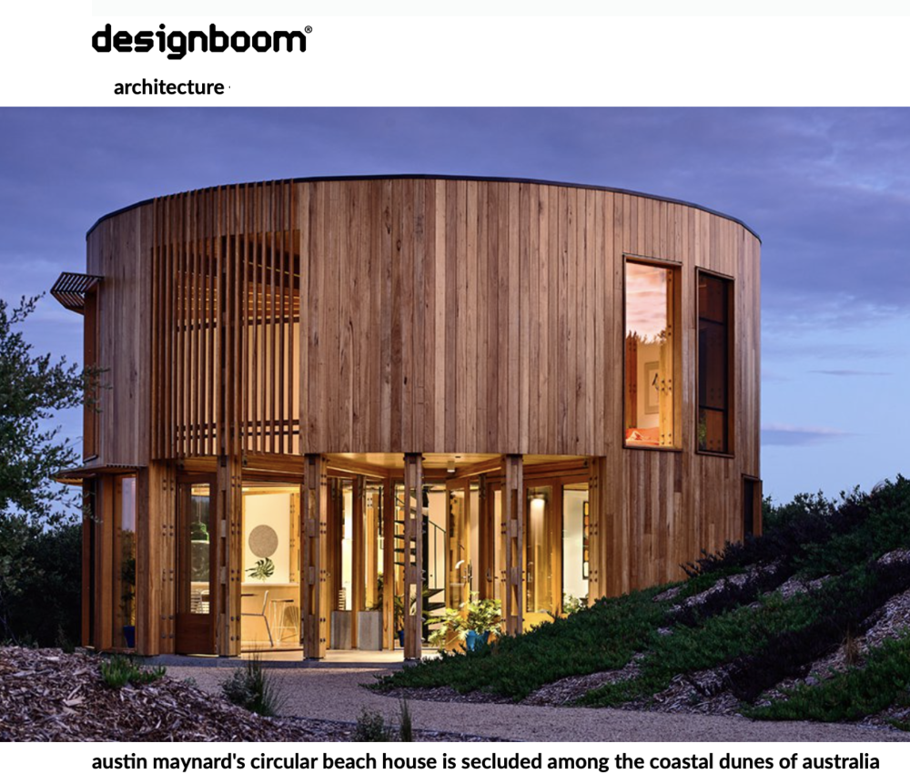 ' St Andrews Beach House', Kat Barandy, Designboom 2019